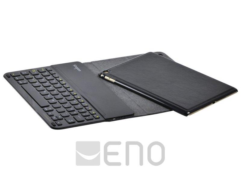 leicke sharon h lle mit bluetooth tastatur qwertz apple ipad air 2 schwarz. Black Bedroom Furniture Sets. Home Design Ideas