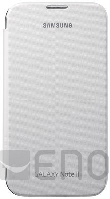 Samsung Flip Cover fuer Galaxy Note 2 N7100 White