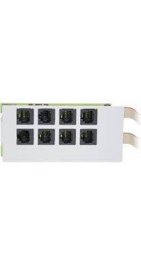 Agfeo Modulfrontplatte T-Modul 508 & Up0-Modul 508 (f?r AS 200 IT)