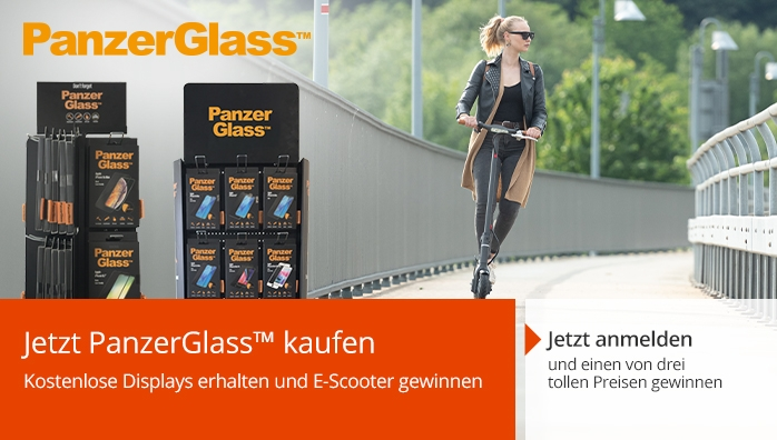 PanzerGlass(TM) E-Scooter Incentive