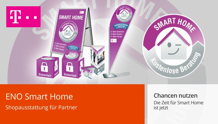 Smart Home Shopausstattung