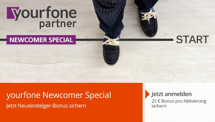 yourfone Newcomer Special