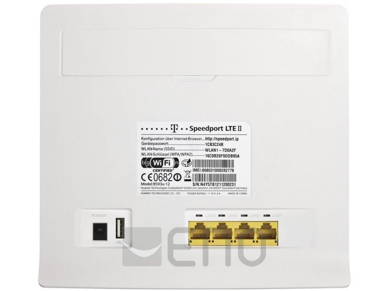 Telekom Speedport LTE II weiß