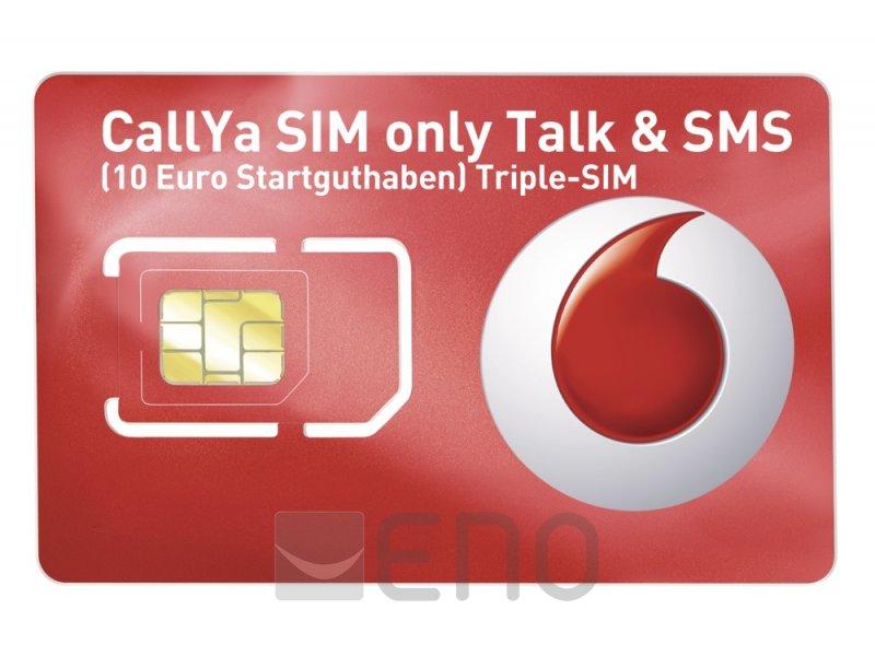 Callya Sim Karte.Callya Sim Only Talk Sms Triple Sim 10 Euro Startguthaben