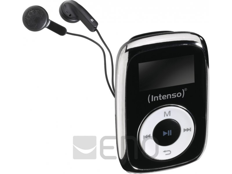 intenso music mover 8 gb mp3 player schwarz. Black Bedroom Furniture Sets. Home Design Ideas