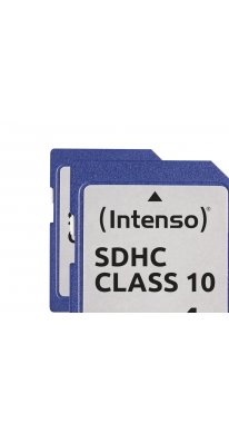 Intenso Secure Digital Card SD Class 10 4 GB Speicherkarte