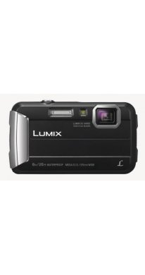 Panasonic Lumix DMC-FT30 Kompakte Outdoor-Kamera, schwarz