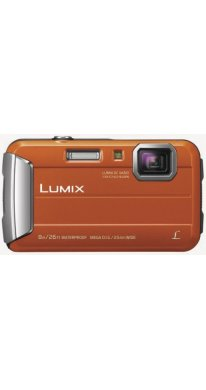 Panasonic Lumix DMC-FT30 Kompakte Outdoor-Kamera, orange