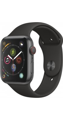 Apple Watch Series 4 GPS 44 mm Alu space grey, Sport black