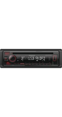 Kenwood KDC-BT430U CD-Tuner/AUX/USB/iPod/Bluetooth