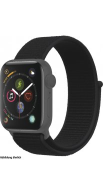 Apple Watch Series 4 GPS 40 mm Alu space grey, Loop black